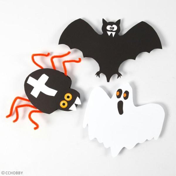 Stickers 3D - Yeux d'Halloween - 20 pcs - Photo n°2