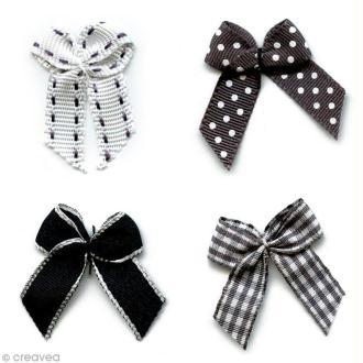 Noeud Recreatys Noir - Assortiment de 10 pièces
