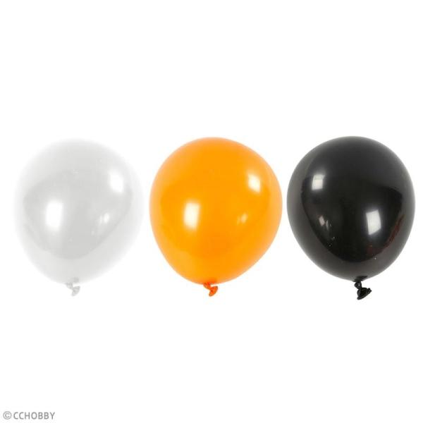 Ballons de baudruche Halloween - 23 à 26 cm - 10 pcs - Photo n°2