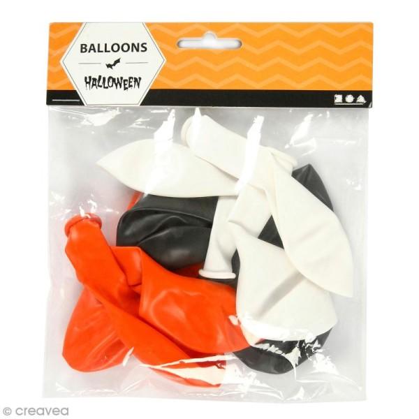 Ballons de baudruche Halloween - 23 à 26 cm - 10 pcs - Photo n°1