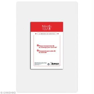 Plaque transparente de rechange pour machine Cut It All Toga