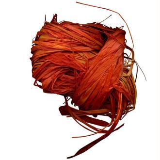 Raphia naturel orange 25 g