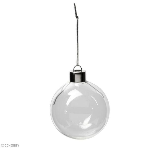 Boules de Noël en verre - 6 cm - 8 pcs - Photo n°2