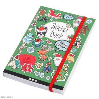 Carnet de stickers - Noël  - 80 pages