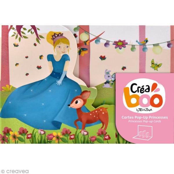 Coffret Ma boîte à cartes - Princesses - Photo n°1