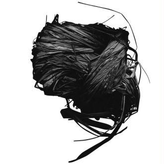 Raphia naturel noir 25 g