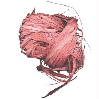 Raphia naturel rose 25 g