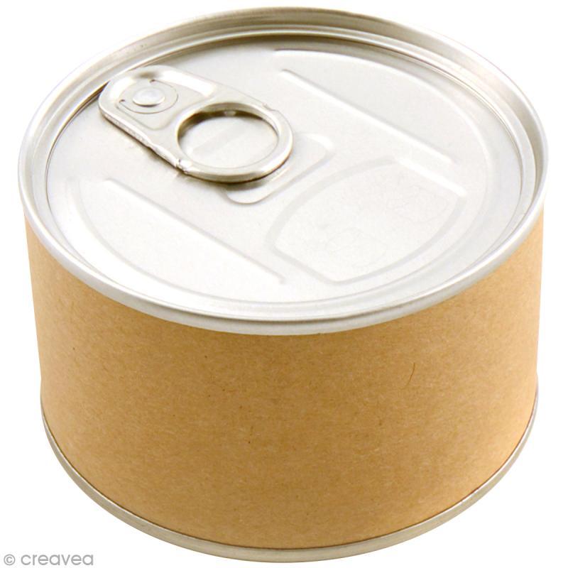 Emballage cadeau bo te de conserve 8 5 x 5 cm diy with toga boite cadeau d corer creavea - Acheter boite de conserve vide ...