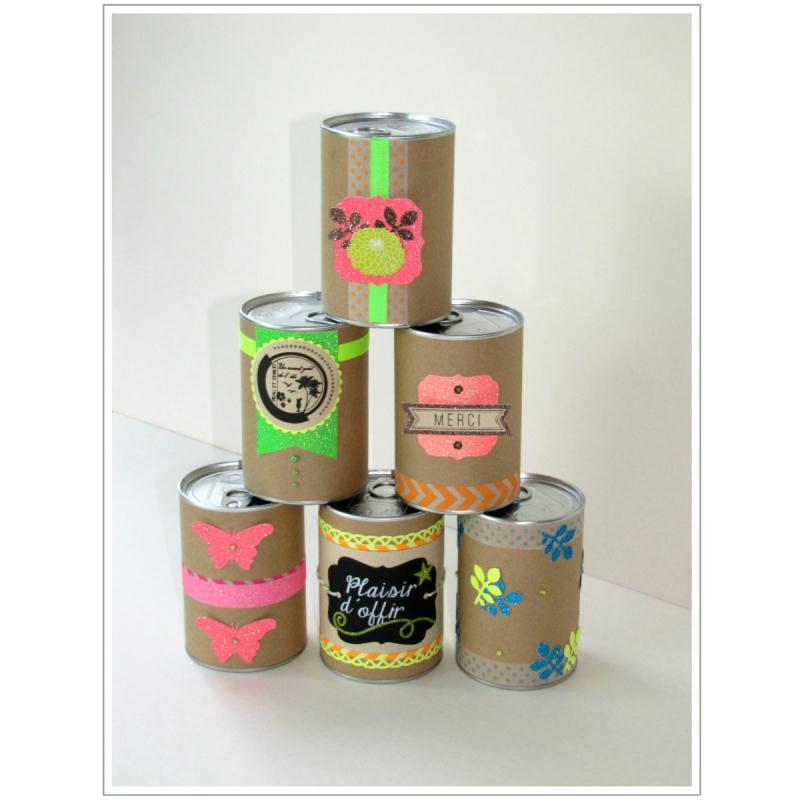 emballage cadeau bo te de conserve 7 5 x 11 cm diy with toga boite cadeau d corer creavea. Black Bedroom Furniture Sets. Home Design Ideas