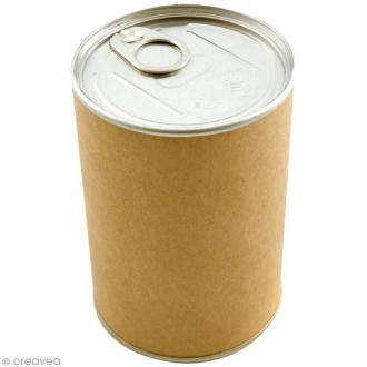 Emballage cadeau boîte de conserve - 7,5 x 11 cm - DIY with Toga