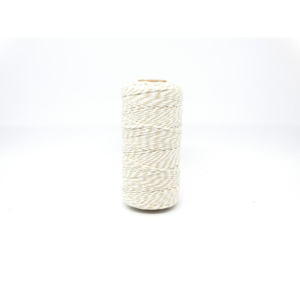 Ficelle bicolore Baker'sTwine - May arts - Beige - Photo n°1