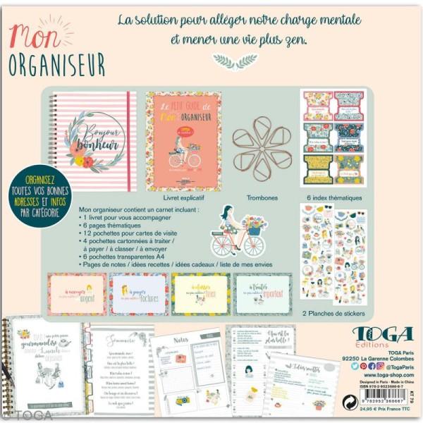 Kit Planner - Mon organiseur Toga - Photo n°4