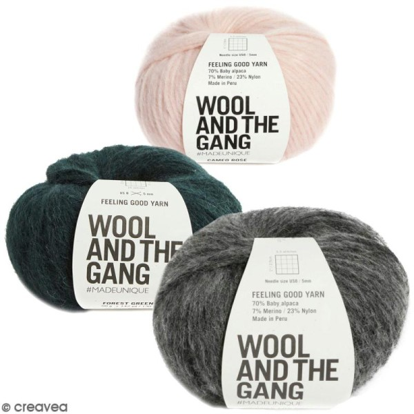 Laine Wool and the Gang - Feeling Good Yarn - 50 g - Photo n°1