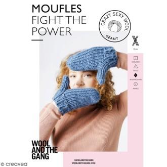 Patron Tricot Wool and The Gang - Modèle Crazy Sexy Wool - Moufles - niveau Intermédiaire