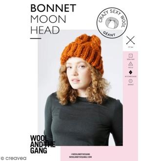 Patron Tricot Wool and The Gang - Modèle Crazy Sexy Wool - Bonnet Moonhead - niveau Intermédiaire