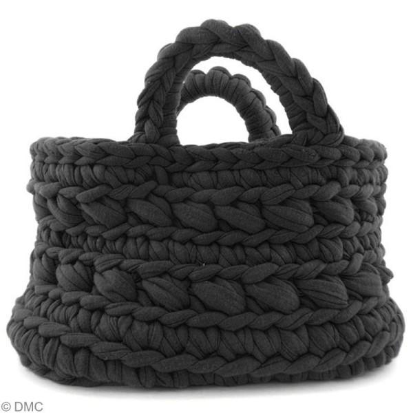Ribbon XL DMC - Pelote Jersey noire - 120 mètres - Photo n°4
