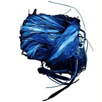 Raphia naturel bleu 25 g