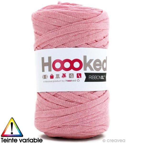 Ribbon XL DMC - Pelote Jersey rose clair - 120 mètres - Photo n°1