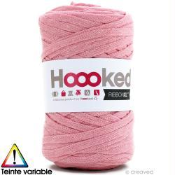 Ribbon XL DMC - Pelote Jersey rose clair - 120 mètres