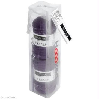 Kit Ribbon XL - coussin violet