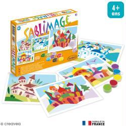 Kit Sablimage - Villages du Monde - 4 tableaux