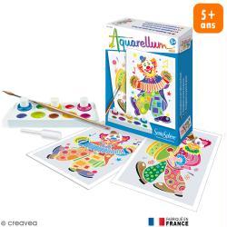 Kit Aquarellum mini Clowns - 2 tableaux