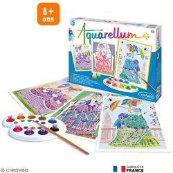 Jeu créatif Aquarellum Marie-Antoinette