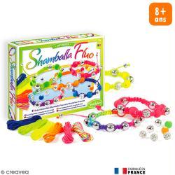 Kit créatif Shamballa Fluo - 6 bracelets