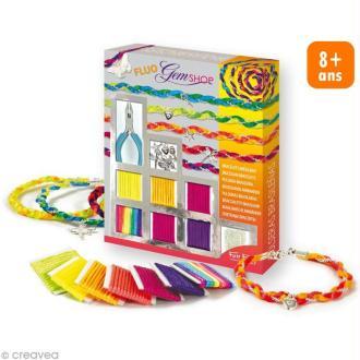 Kit complet GemShop - Bracelets brésiliens fluo