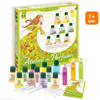 Kit Mon atelier de parfums - Fleurs fraiches