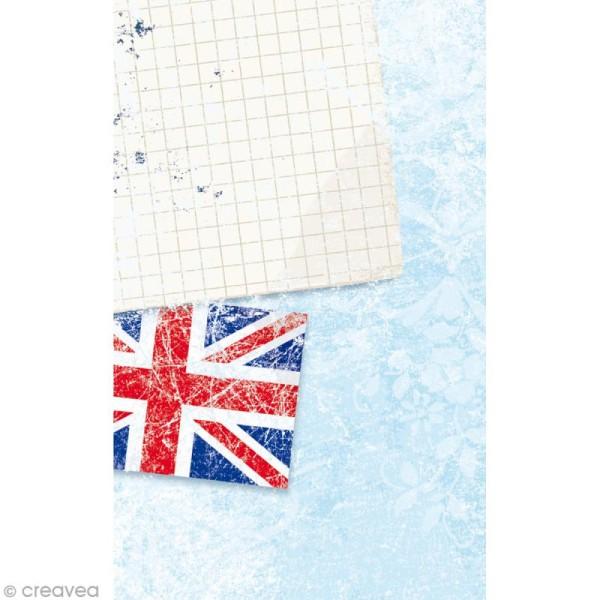 Mini carnet scrapbooking Cities Londres - 7 x 11 cm - 30 feuilles - Photo n°2