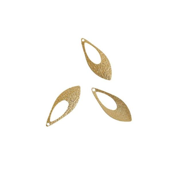 50 Breloques Pendentifs Fleur Couleur bronze 13x11mm