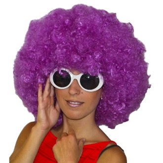Perruque maxi jimmy violette