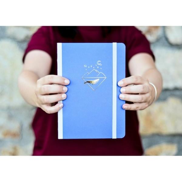 Carnet à point - A5 - 192 pages - Papier blanc ou ivoire - Carnet Bullet journal - Photo n°1