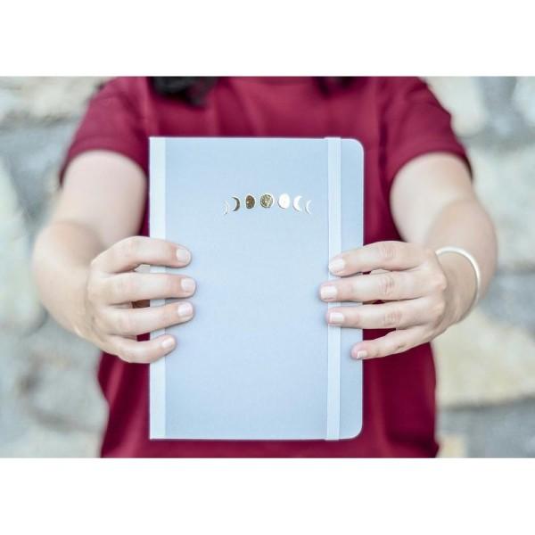 Carnet à point - A5 - 192 pages - Papier ivoire - Carnet Bullet journal - Photo n°3