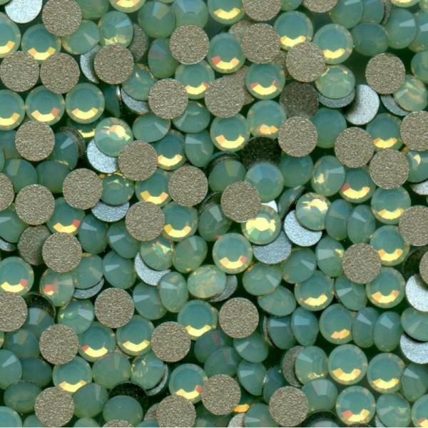 1028 SS34 OCH *** 12 Strass Swarovski  fond conique 7,2mm CHRYSOLITE OPAL  F