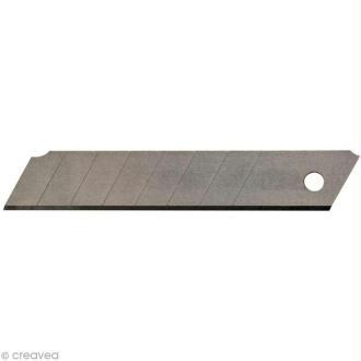 Lames pour cutter professionnel - 18 mm - 10 pcs