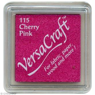 Encreur textile Versacraft Mini - Rose cerise (cherry pink)