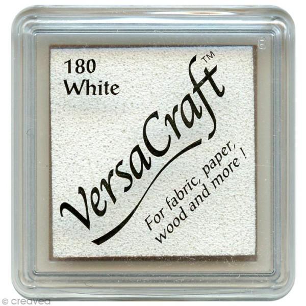 Encreur textile Versacraft Mini - Blanc (white) - Photo n°1