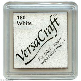 Encreur textile Versacraft Mini - Blanc (white)