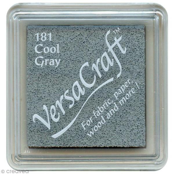 Encreur textile Versacraft Mini - Gris froid (cool grey) - Photo n°1