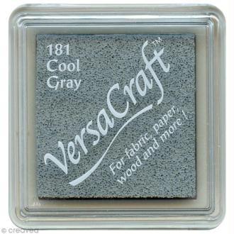 Encreur textile Versacraft Mini - Gris froid (cool grey)