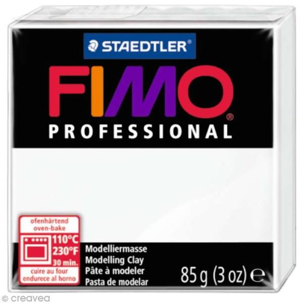 Pâte Fimo Professional Blanc 0 - 85 gr - Photo n°1