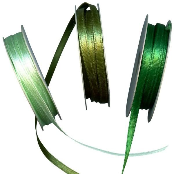 Ruban satin vert 3 x 6 m - Photo n°1