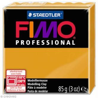 Pâte Fimo Professional Jaune ocre 17 - 85 gr