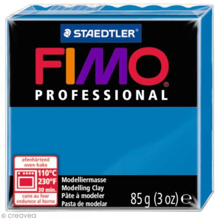 Fimo Professional Bleu pur 300 - 85 gr - Photo n°1