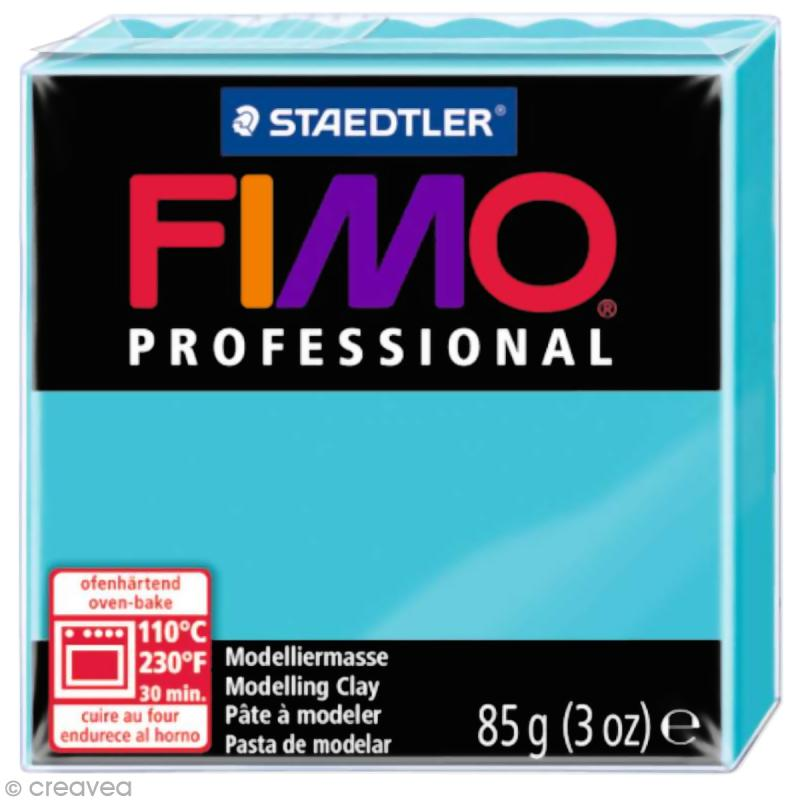 Fimo Professional Bleu turquoise 32 - 85 gr - Photo n°1