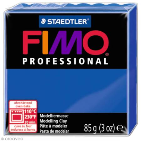 Fimo Professional Bleu ultra marine 33 - 85 gr - Photo n°1