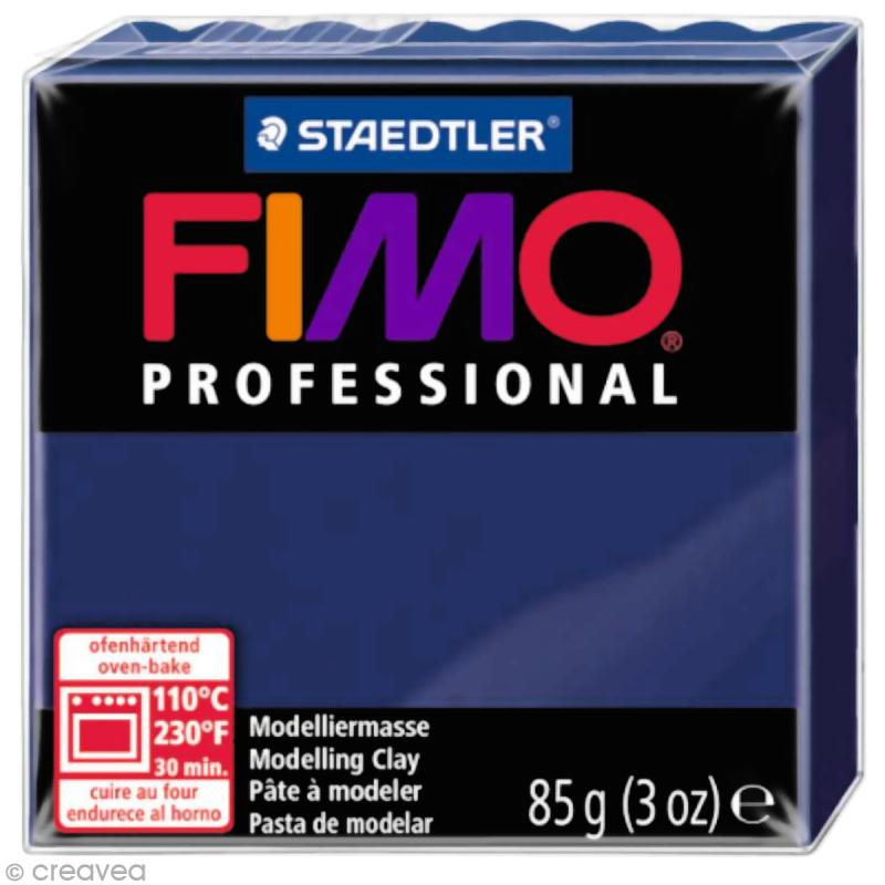 Fimo Professional Bleu marine 34 - 85 gr - Photo n°1