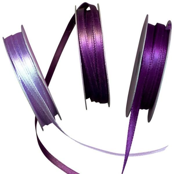 Ruban satin violet 3 x 6 m - Photo n°1